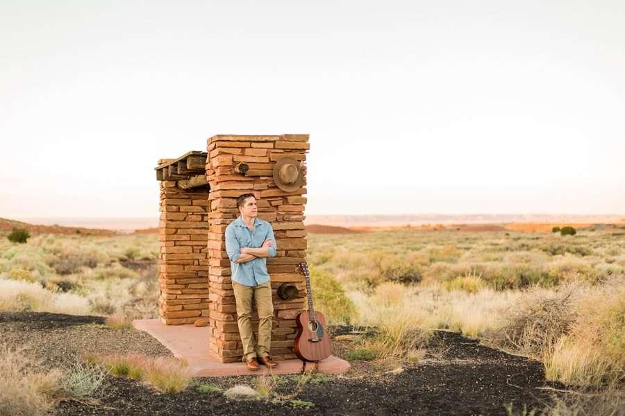 CF Black: Arizona Musician Portrait Photography az guitar