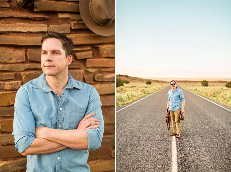 CF Black: Arizona Musician Portrait Photography man alone