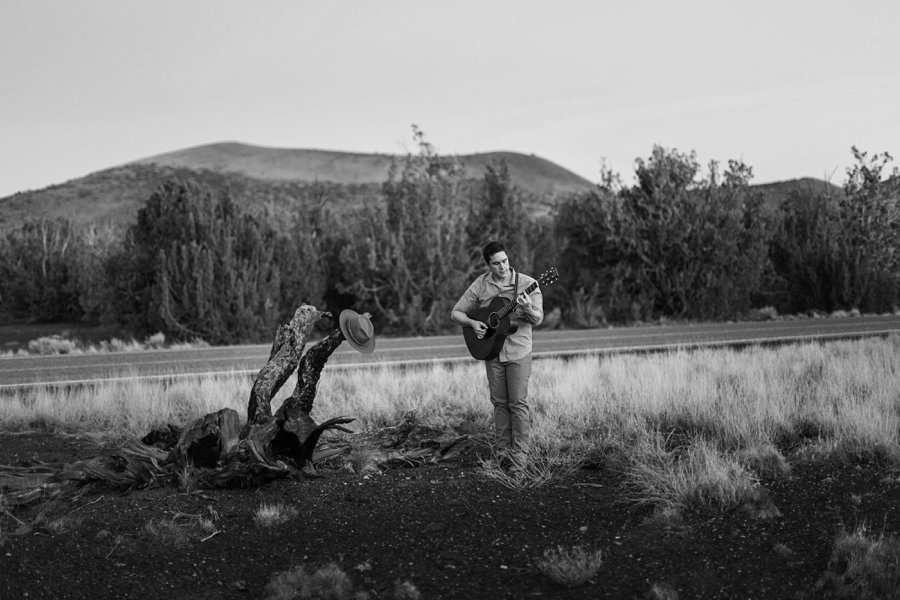 CF Black: Arizona Musician Portrait Photography dark and moody