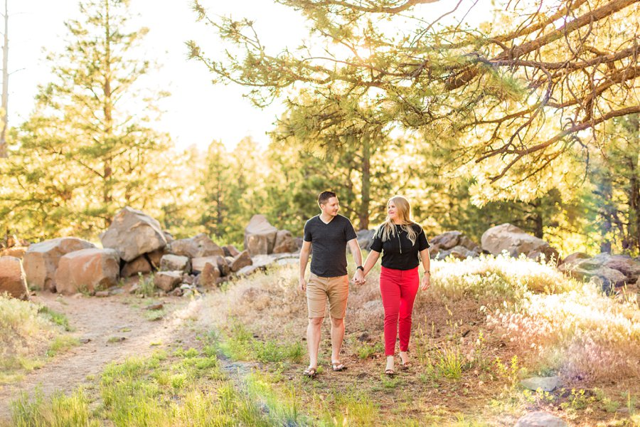 Casey and Corey: Buffalo Park Flagstaff Engagement Photography best of
