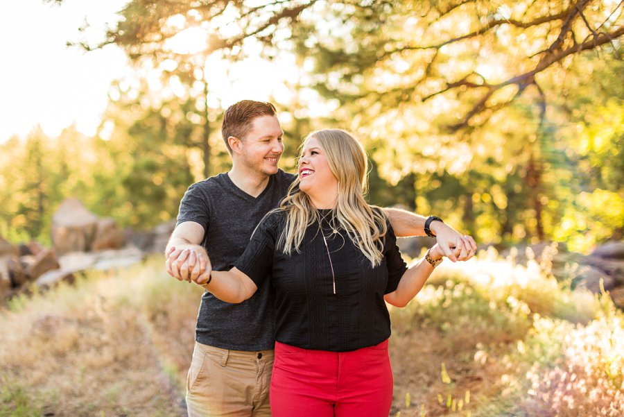 Casey and Corey: Buffalo Park Flagstaff Engagement Photography top rated