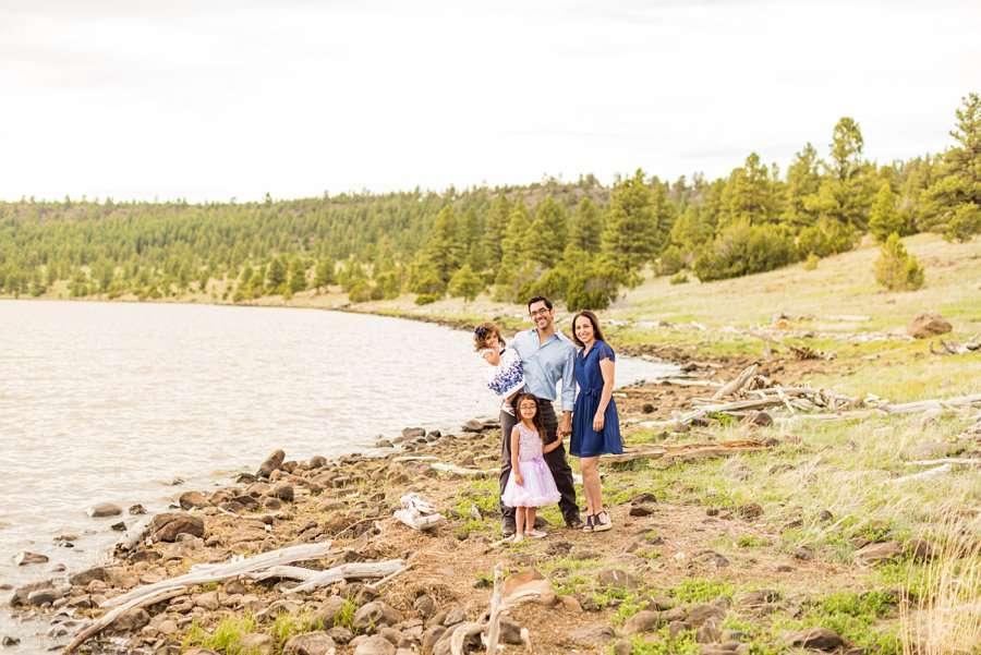 Kasem Family: Lake Mary Flagstaff Photographer fam