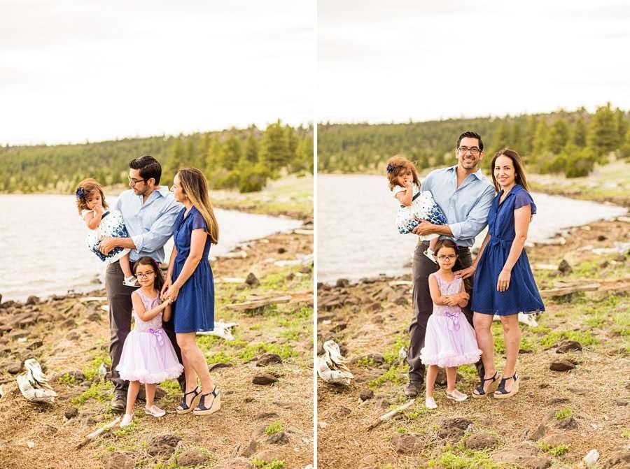 Kasem Family: Sedona AZ Family Photography lake