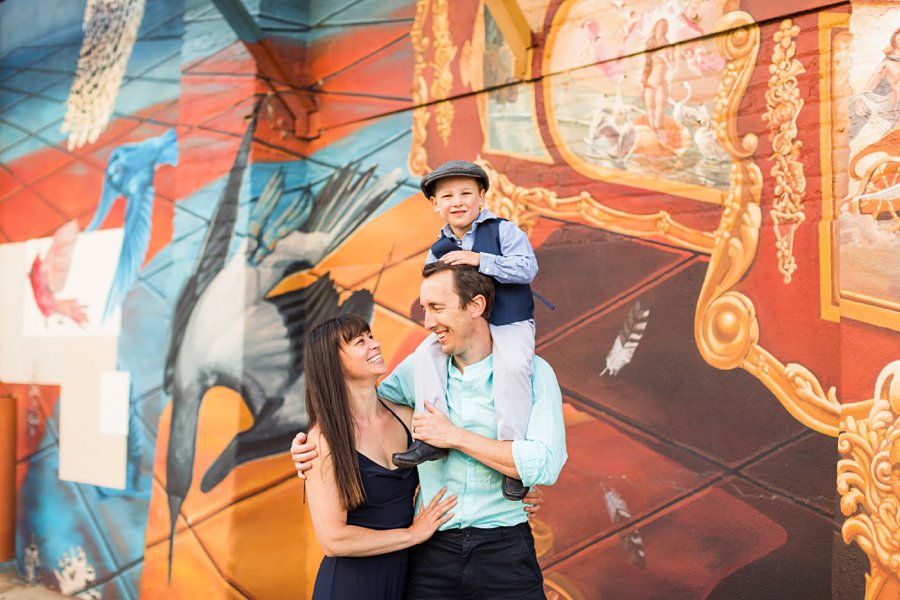 Kauffman Family: Downtown Flagstaff Family Photographer little