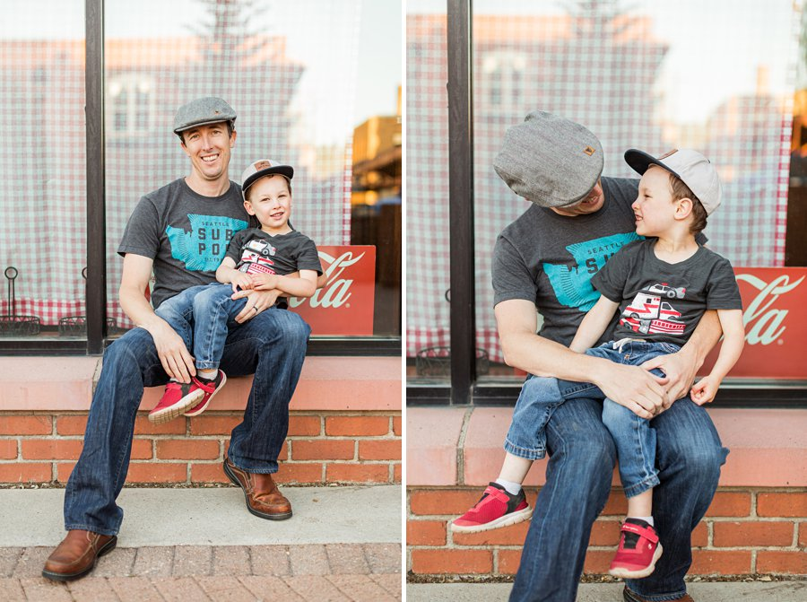 Kauffman Family: Northern Arizona Portrait Photography laughter