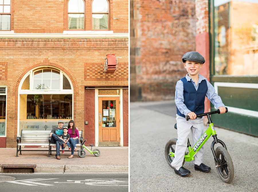 Kauffman Family: Northern Arizona Portrait Photography little man