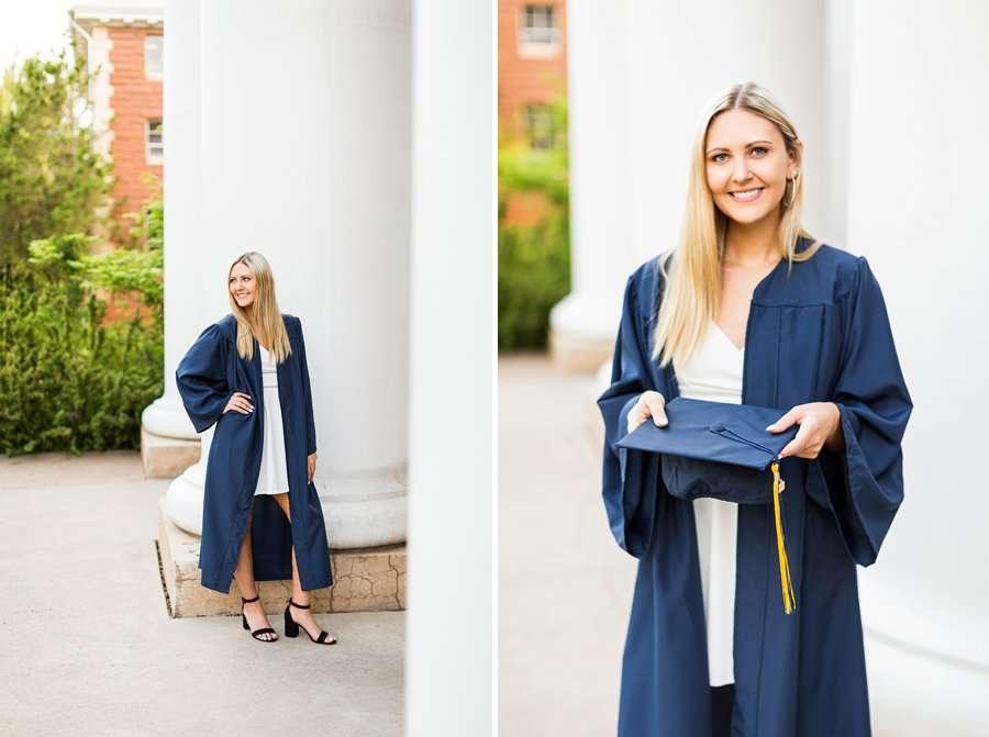 Allie: NAU Graduation Photographer cap and gown