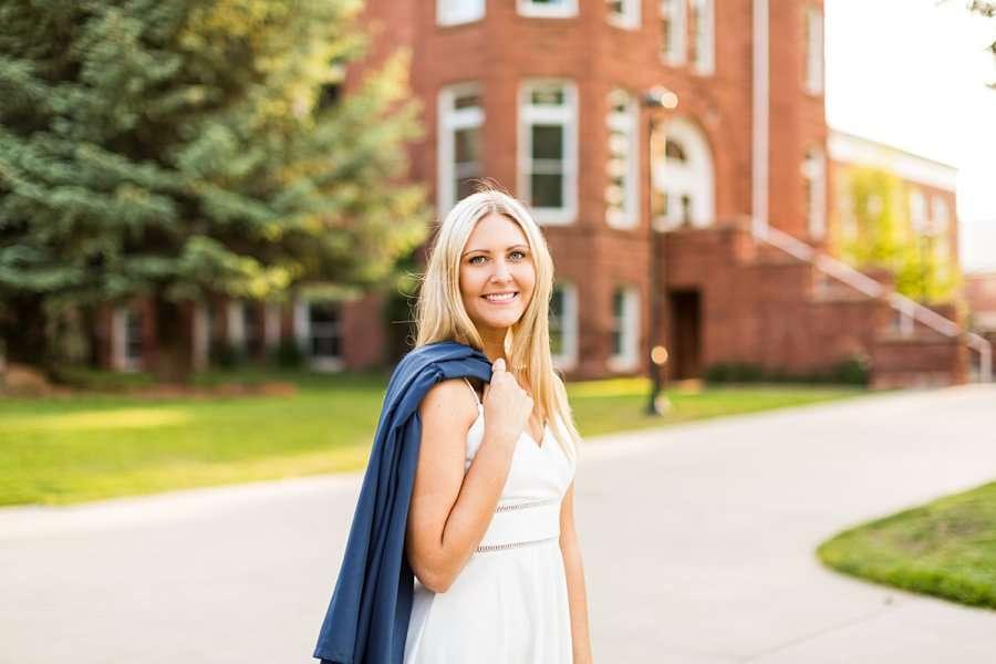 Allie: NAU Graduation Photographer happiness and joy