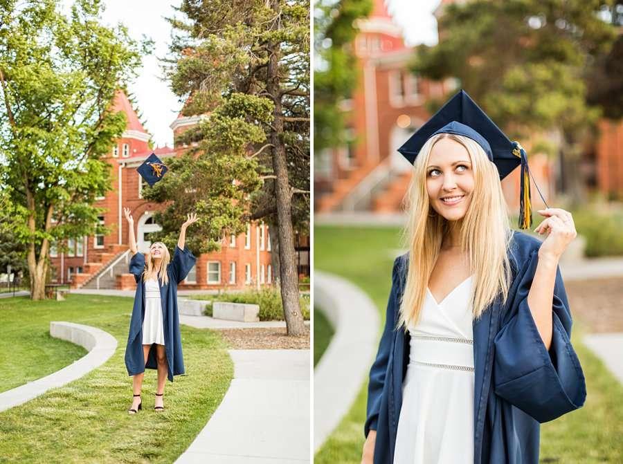 Allie: Northern Arizona University Senior Photography tassle