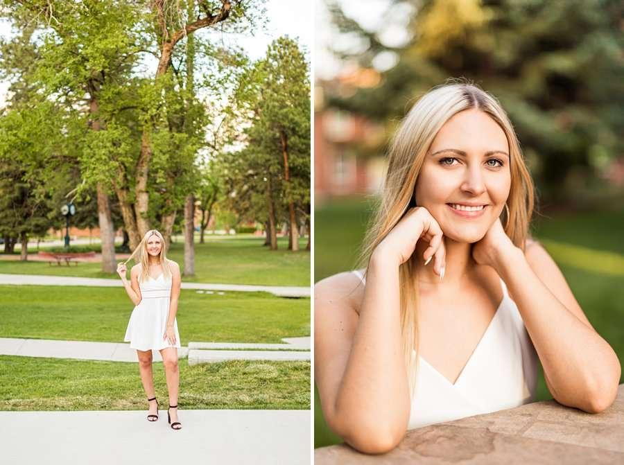 Allie: NAU Graduation Photographer old main