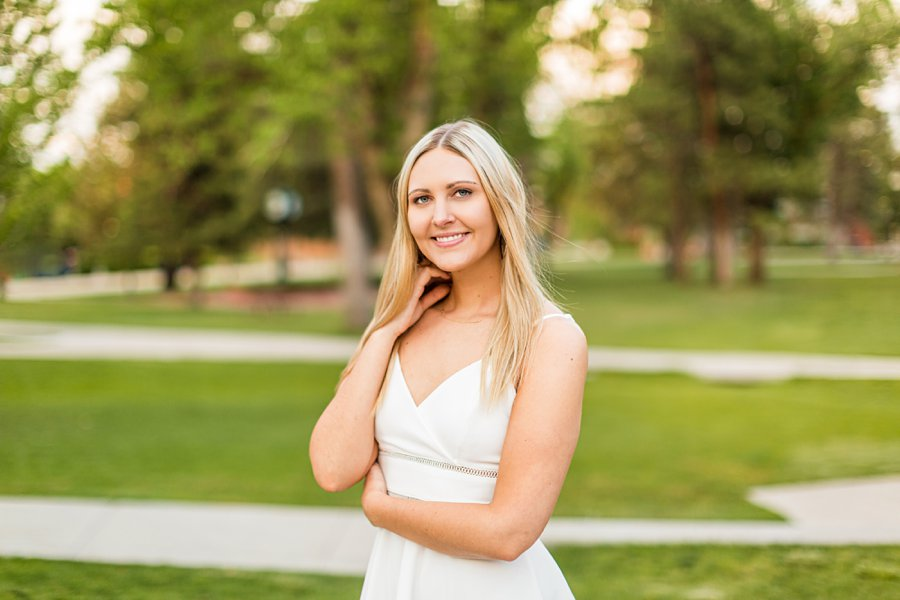 Allie: NAU Graduation Photographer smiling