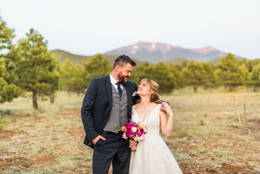 Becca and Josh: Flagstaff Arizona Elopement Photography adventure destination couples