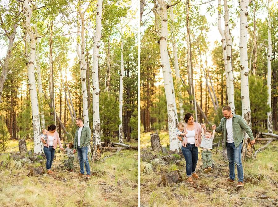 Borbon Family: Flagstaff Destination Portrait Photographer colorful and creative