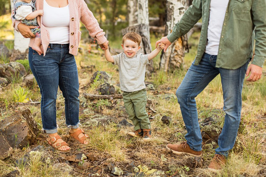 Borbon Family: Flagstaff Destination Portrait Photographer joy in together