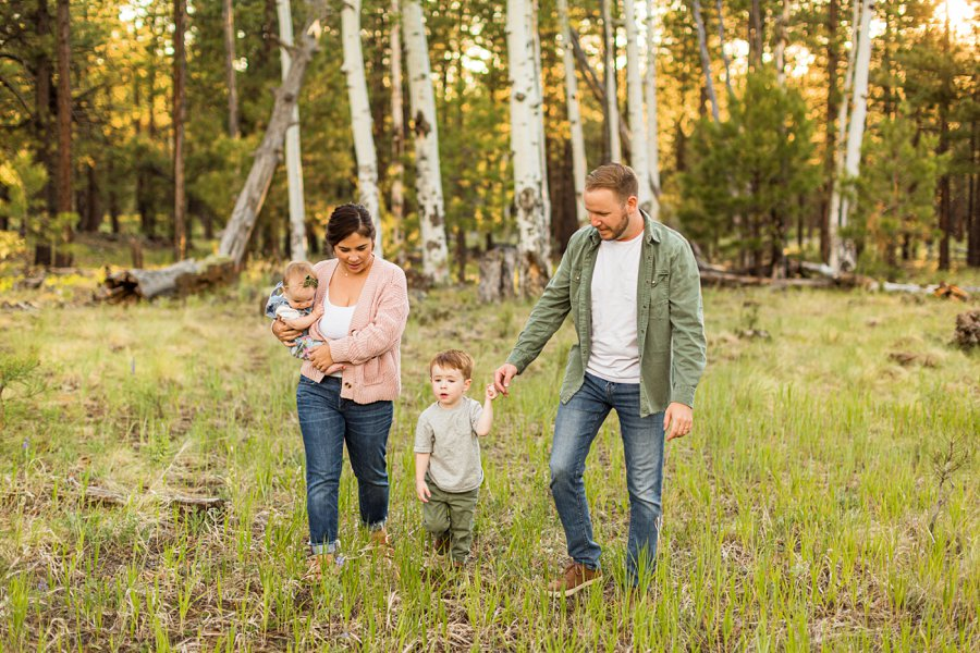 Borbon Family: Northern Arizona Family Photography best things to do when visiting