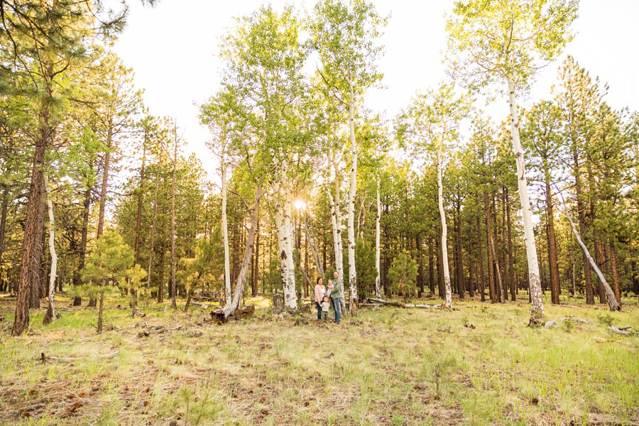 Borbon Family: Flagstaff Destination Portrait Photographer top rated family photographer