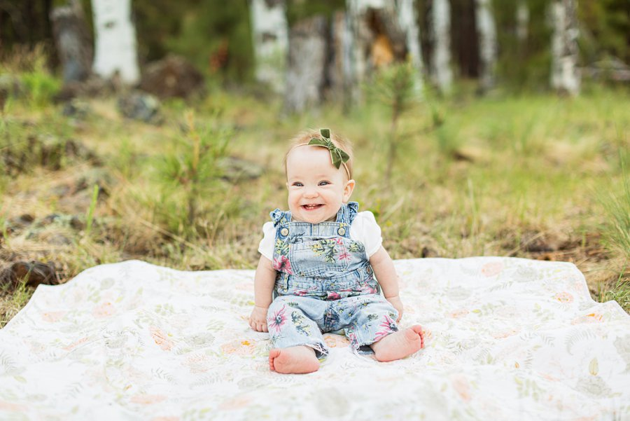 Borbon Family: Northern Arizona Family Photography newborn and infant