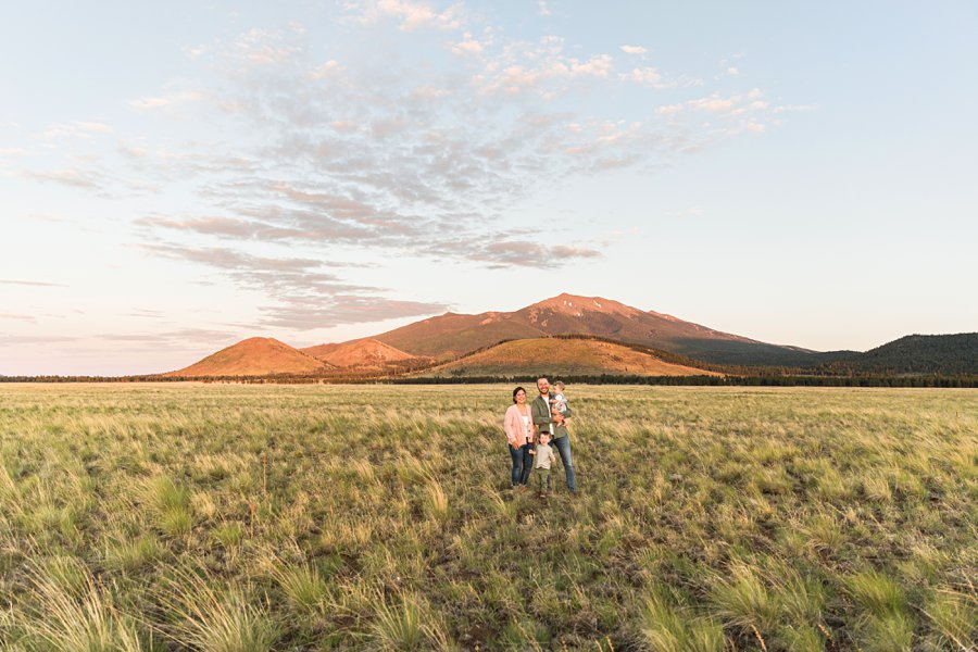 Borbon Family: Northern Arizona Family Photography landscapes