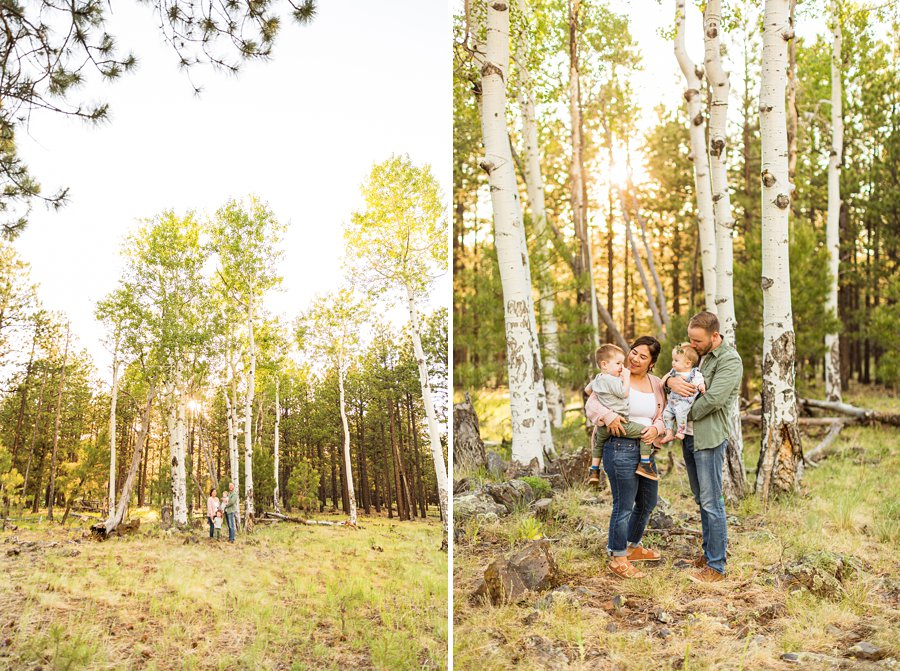 Borbon Family: Flagstaff Destination Portrait Photographer highest rated best reviews
