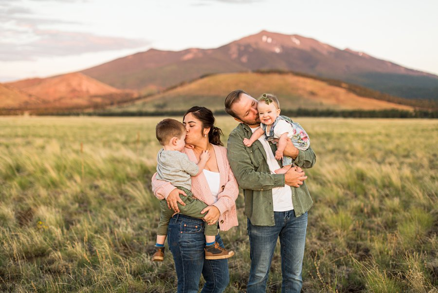 Borbon Family: Northern Arizona Family Photography joy together