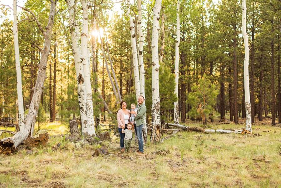 Borbon Family: Flagstaff Destination Portrait Photographer best places to travel in northern arizona