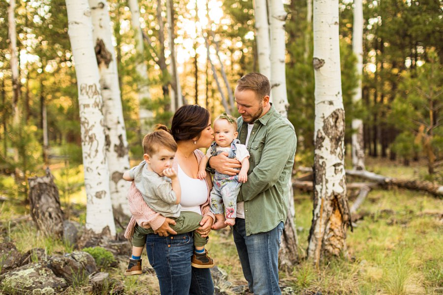 Borbon Family: Flagstaff Destination Portrait Photographer what to do when visiting