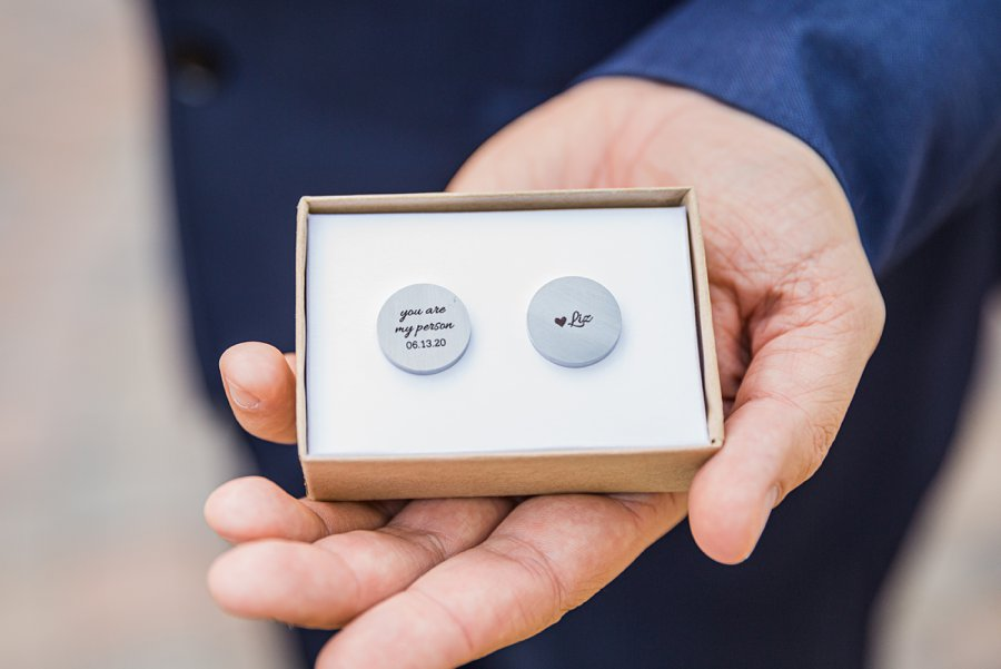 Liz and Jeremy: Phoenix Wedding Photography grooms gift idea
