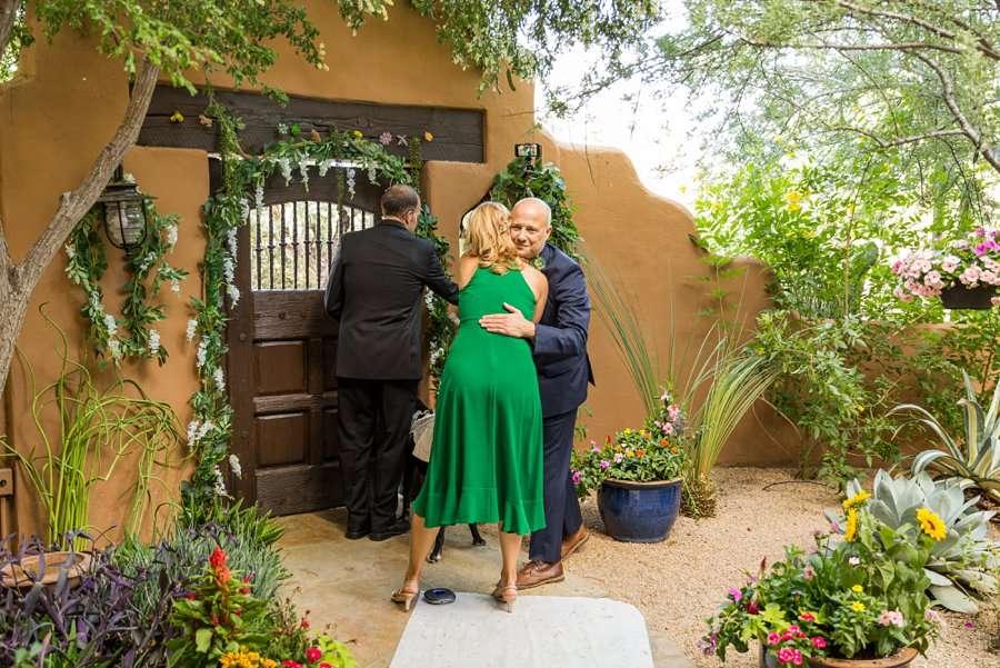 Liz and Jeremy: Phoenix Wedding Photography hugging the groom