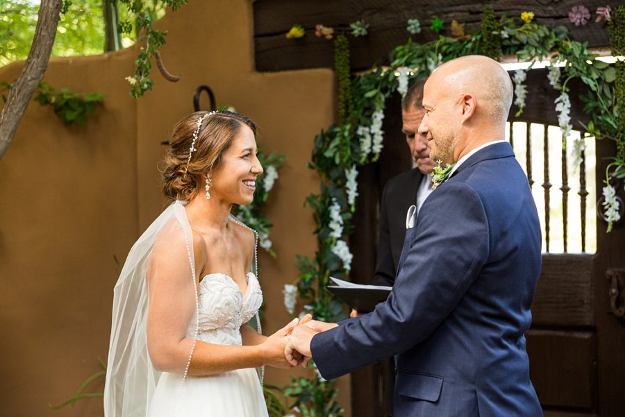 Liz and Jeremy: Phoenix Wedding Photography ceremony