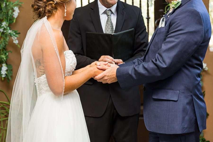 Liz and Jeremy: Phoenix Wedding Photography hands details