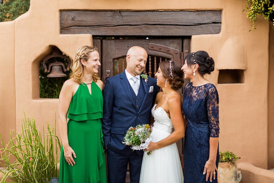 Liz and Jeremy: Phoenix Wedding Photography family portraits