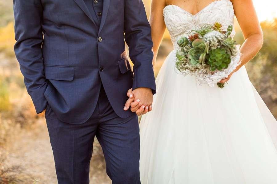 Liz and Jeremy: Phoenix Wedding Photography hands holding