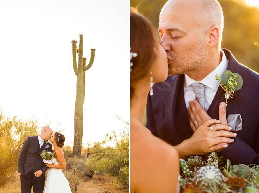 Liz and Jeremy: Phoenix Wedding Photography cacti wedding photographs