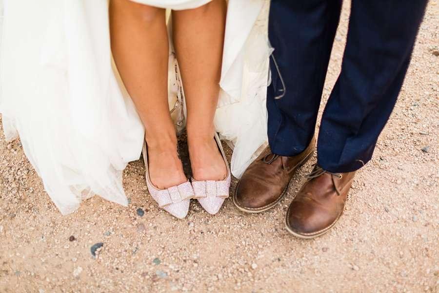 Liz and Jeremy: Phoenix Wedding Photography wedding shoes