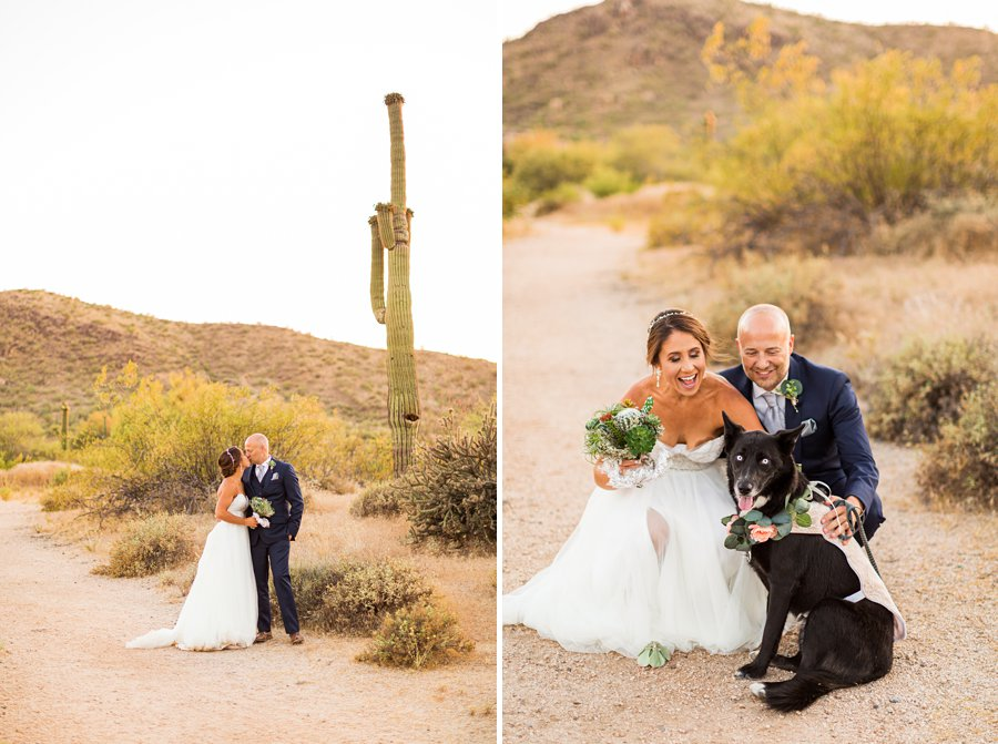 Liz and Jeremy: Phoenix Wedding Photography creative and colorful