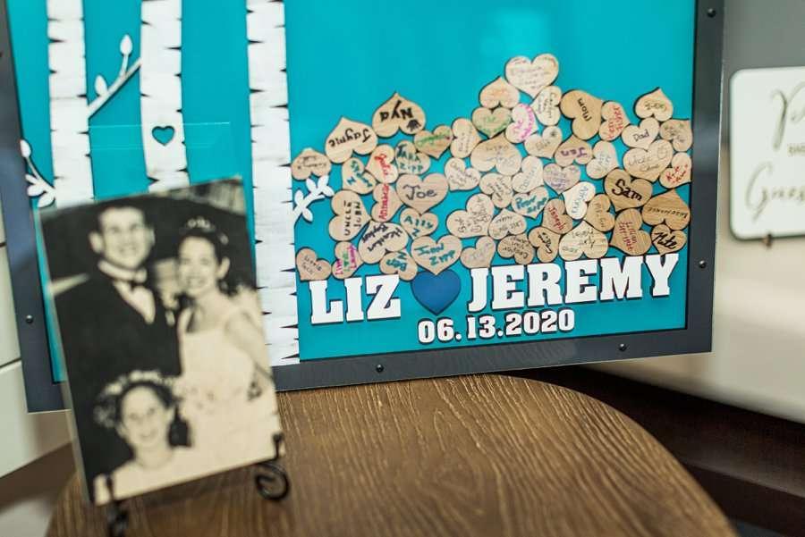 Liz and Jeremy: Arizona Elopement Photographers wedding guest party favors