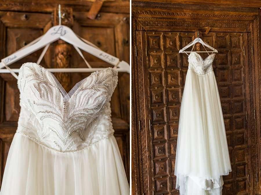Liz and Jeremy: Phoenix Wedding Photography the dress