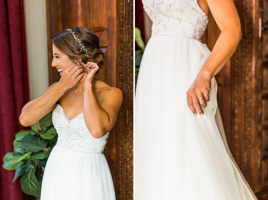 Liz and Jeremy: Phoenix Wedding Photography ring details