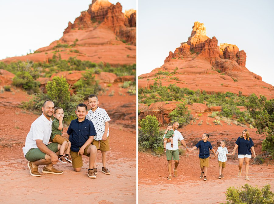 Moreno Family: Arizona Portrait Photography family friendly vacation
