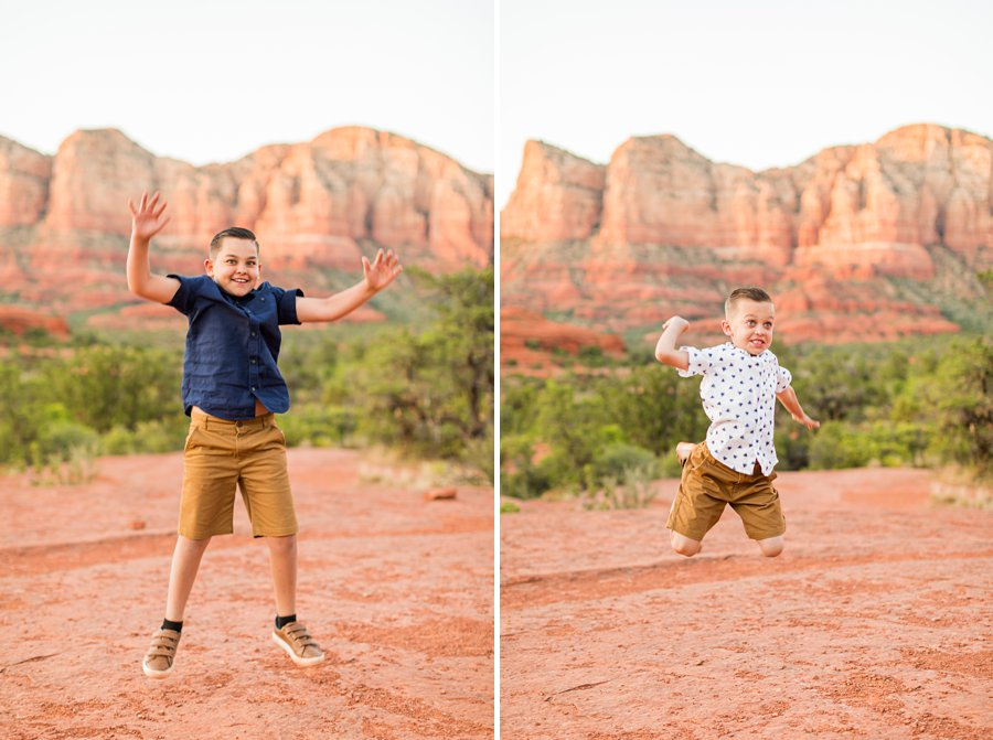 Moreno Family: Sedona Destination Portrait Photographer best sedona locations