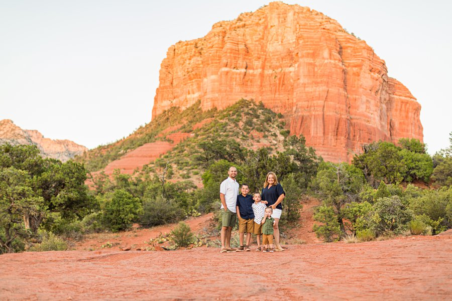 Moreno Family: Sedona Destination Portrait Photographer top rated