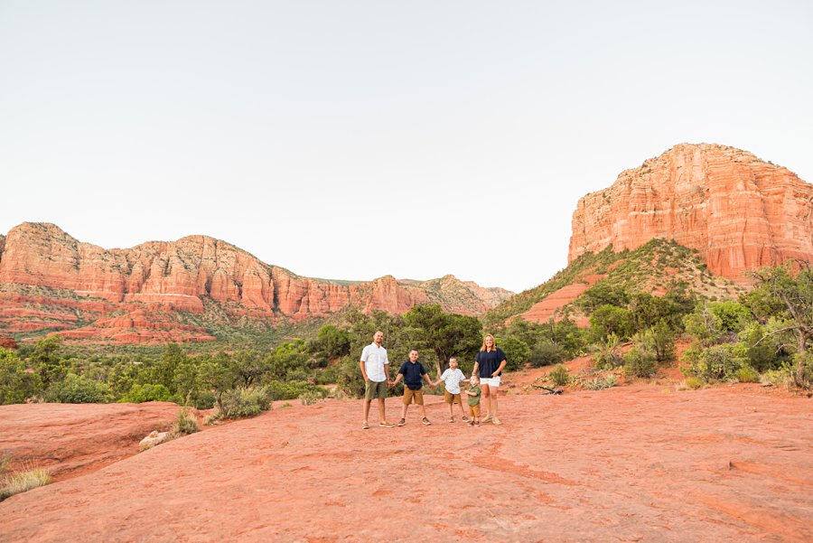 Moreno Family: Sedona Destination Portrait Photographer top sedona locations