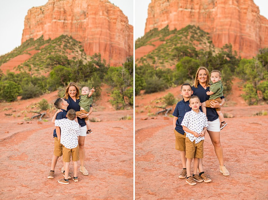 Moreno Family: Arizona Portrait Photography mothers day