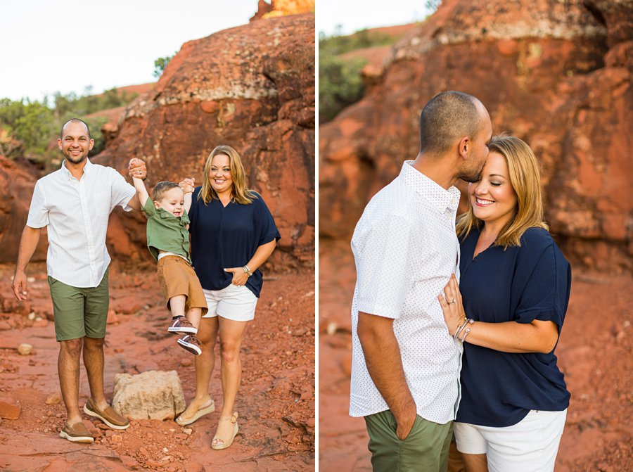 Moreno Family: Arizona Portrait Photography scenic locations