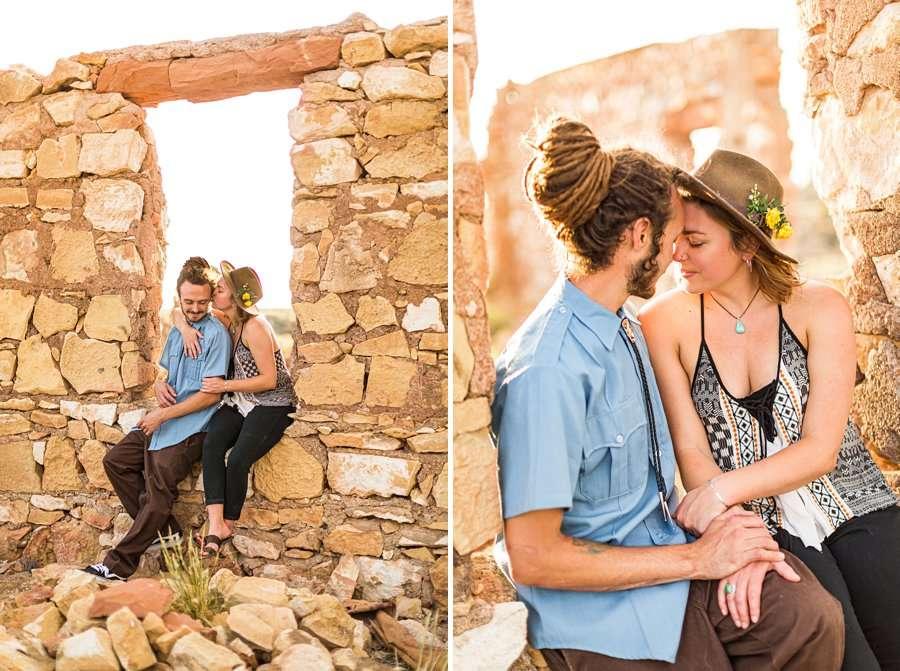 Rachel and Budda: Flagstaff AZ Adventure Photographer happiness
