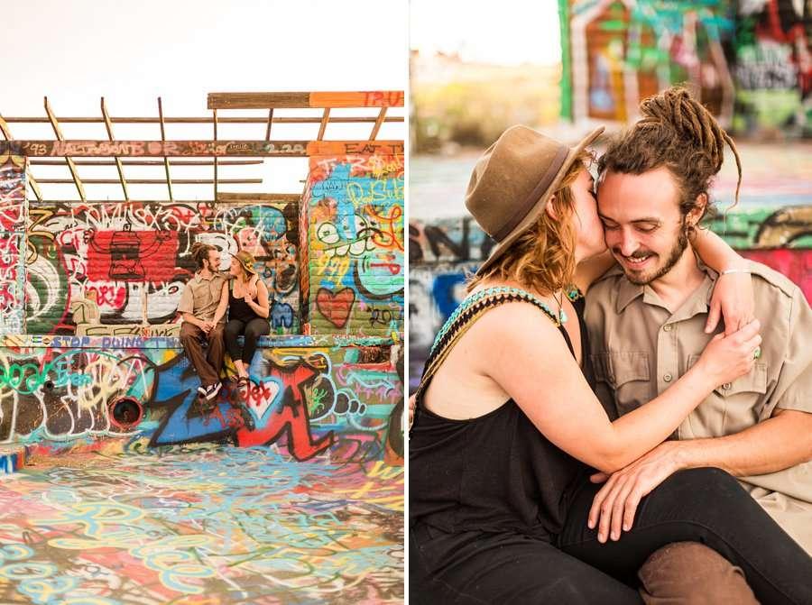 Rachel and Budda: Flagstaff AZ Adventure Photographer abandoned