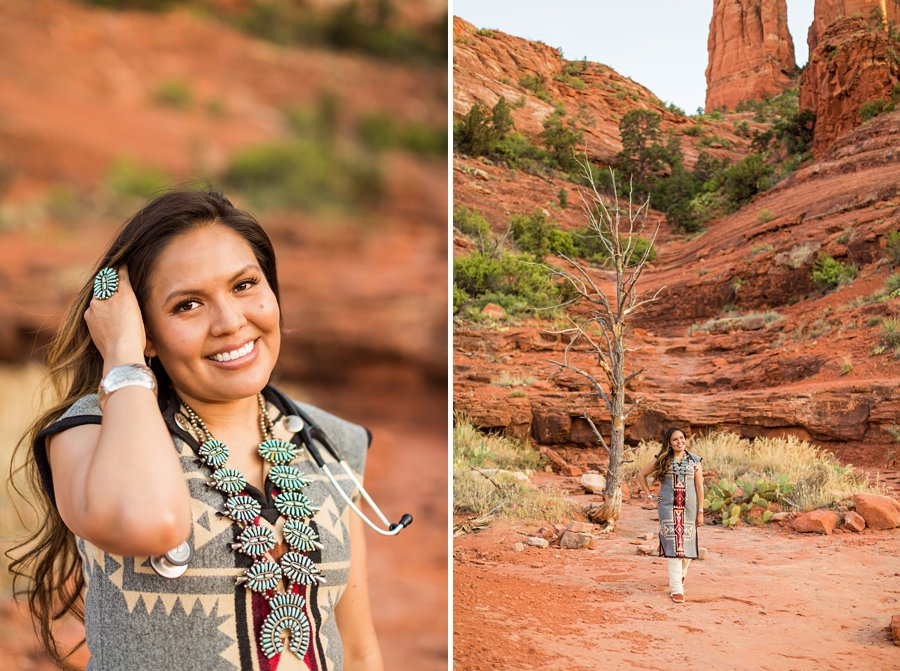 Shalene and Kylie: Arizona Senior Portrait Photographer red rocks