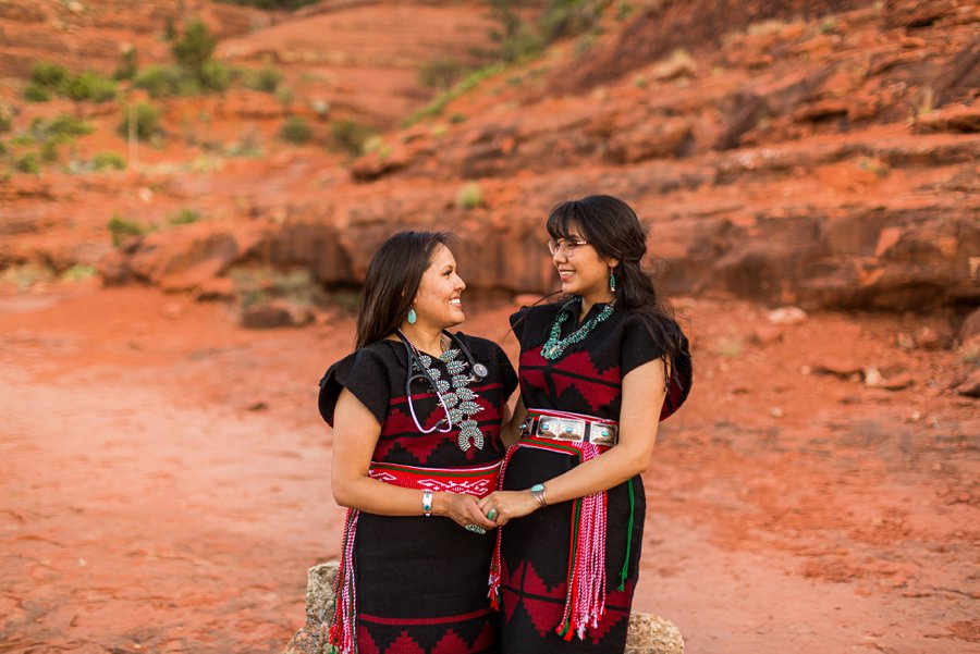 Shalene and Kylie: Arizona Senior Portrait Photographer family graduating