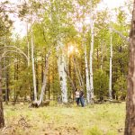 Trish and Mike: Flagstaff Arizona Engagement Session
