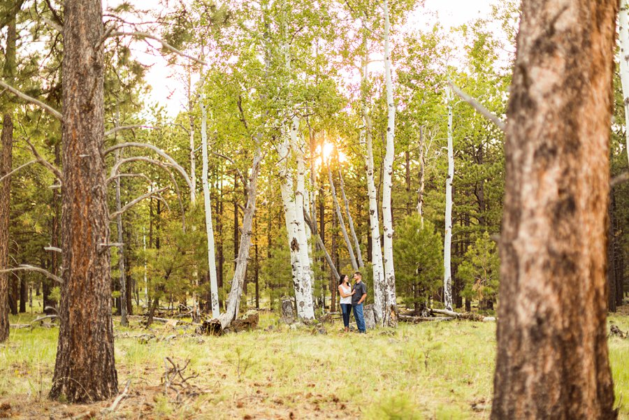 Trish and Mike: Flagstaff Arizona Engagement Session best of flagstaff
